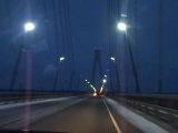С любимым рядом.Мосты на тросах в Н.Новгороде)Качество правда не очень,вечер был)Ездили за машиной,мы с Мишей,а папа с машиной н