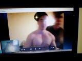 Ванек читает реп американскому другу по скайпу